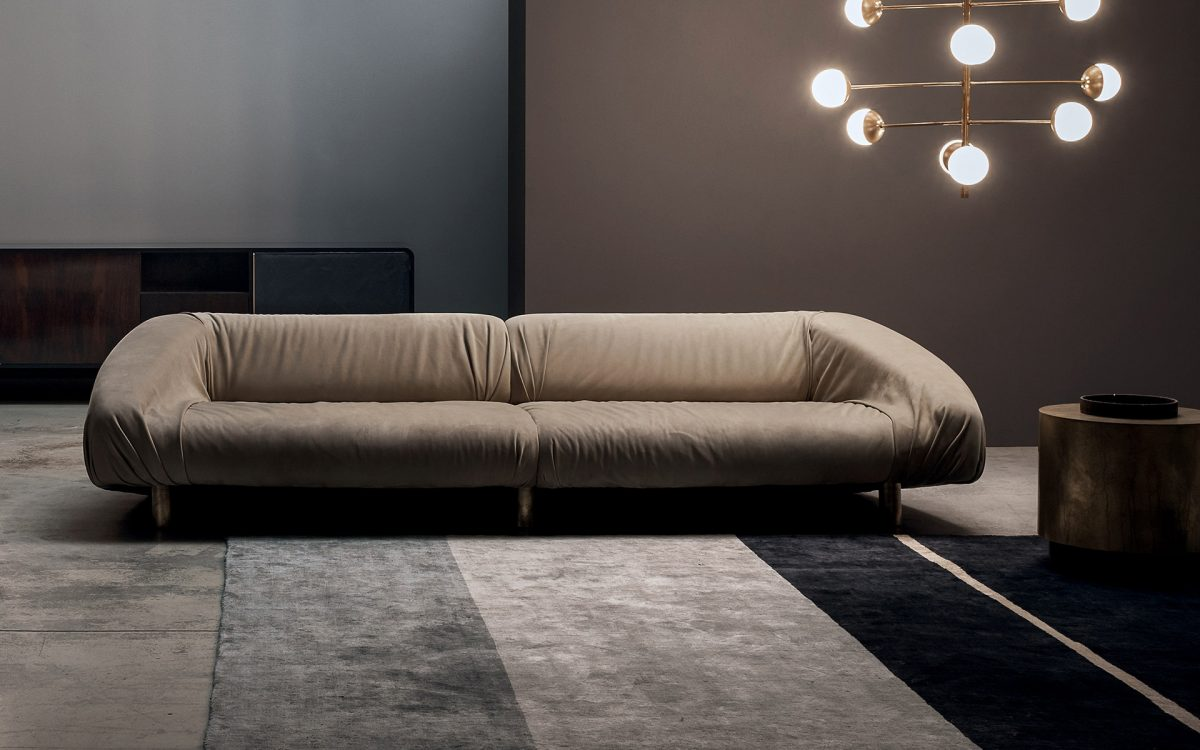 Прямые диваны в стиле лофт: какие они?